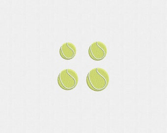 Tennis Ball Machine Embroidery Design - 4 Sizes