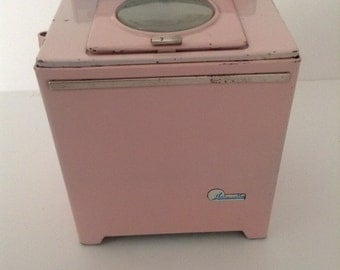 Vintage From The 60s Toy Tin Washing Machine