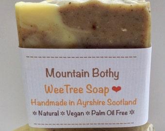 Mountain Bothy Natural Handmade Vegan Soap Bar with Dead Sea Mud