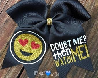 Emoji doubt me bow