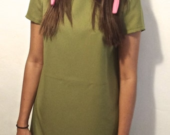 Green Cosplay Dress - Perfect for Bunny Hat - All Sizes
