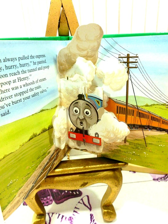 Thomas the tank engine pop up 4 book set thomas goes fishing for Cat goes fishing wiki