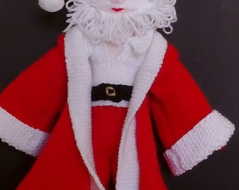 Knitted Santa doll