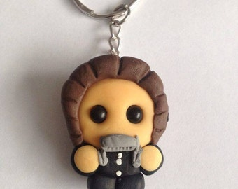 Lil Bob Dylan Keyring (With Harmonica)
