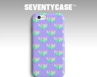 SC431 Pastel Lame Lame Lame Purple Teenage Pattern 3D Wrap Case Cover for iPhone 4/4S 5/5S 5C 6/6S Plus Samsung Galaxy S4 S5 Note4