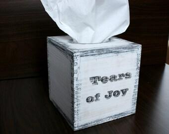 "Kleenex Holder, Kleenex Cover, Rustic TISSUE BOX, Tissue COVER Holder, Kleenex, Kleenex Boxes, Kleenex box cover, Tissue Box Cover, 5x5x5"""