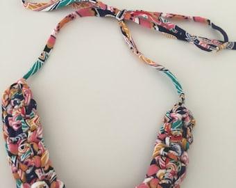 Crochet Necklace - Folksy