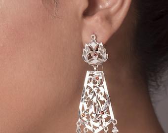 Rani Handmade Silver Earings