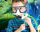 Printable Scuba Mask Photo Prop