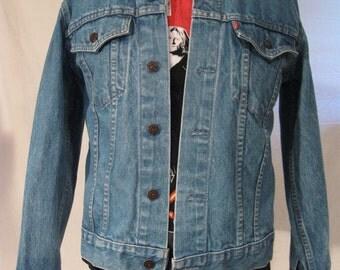 Levis Denim Jean Jacket Vintage 70s Excellent Condition
