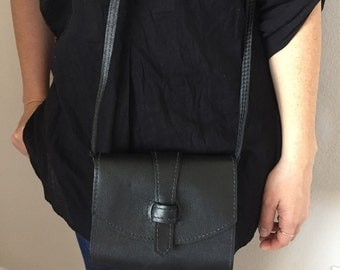 Leather crossbody bag / Handmade leather bag