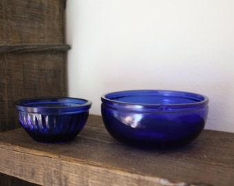 Kobalt blue little bowls