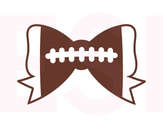 football bow svg dxf eps svg cutting files for use in Cancer Awareness Ribbon Vector Cancer Ribbon SVG