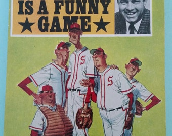 Baseball Is a Funny Game by Joe Garagiola Paperback Free Shipping