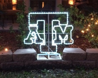 Texas A&M Rope Light Display - FREE SHIPPING!