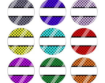 Instant Download 4 x 6 Bottle Cap Images Editable Digital Collage Sheet for Bottlecaps Resin Pendants, Hair Bows, Badge Reels, Pins, CS4