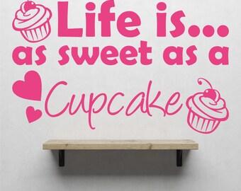 Cupcake Wall Art cupcake wall art | etsy