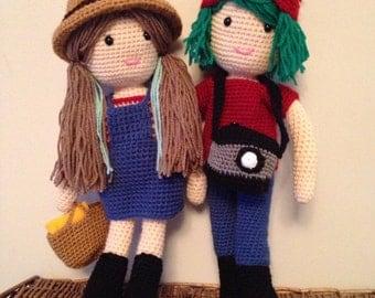 Handmade personalised doll