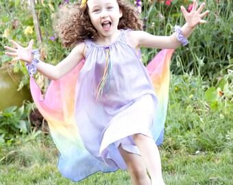 Lavender Rainbow Fairy Dress
