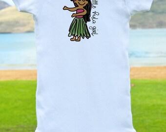 Little Hula Girl Onesie