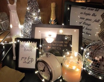 1920s NYE Quote Printables/Signs