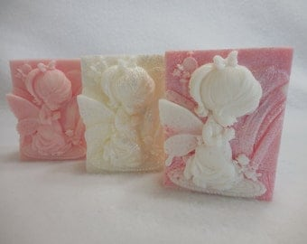 Angel Soap - Baby Angel Soap - Baptism Favors- Custom Angel Soap Favors - Christening Gift - Boy Angel - Girl Angel - Holiday Soap
