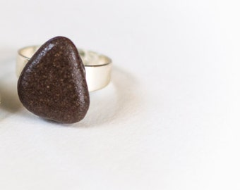 Lake Michigan Rock - Adjustable Ring