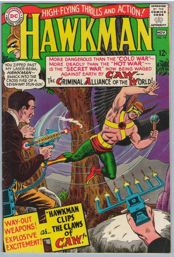 Hawkman 10 Nov 1965 FI- (5.5)