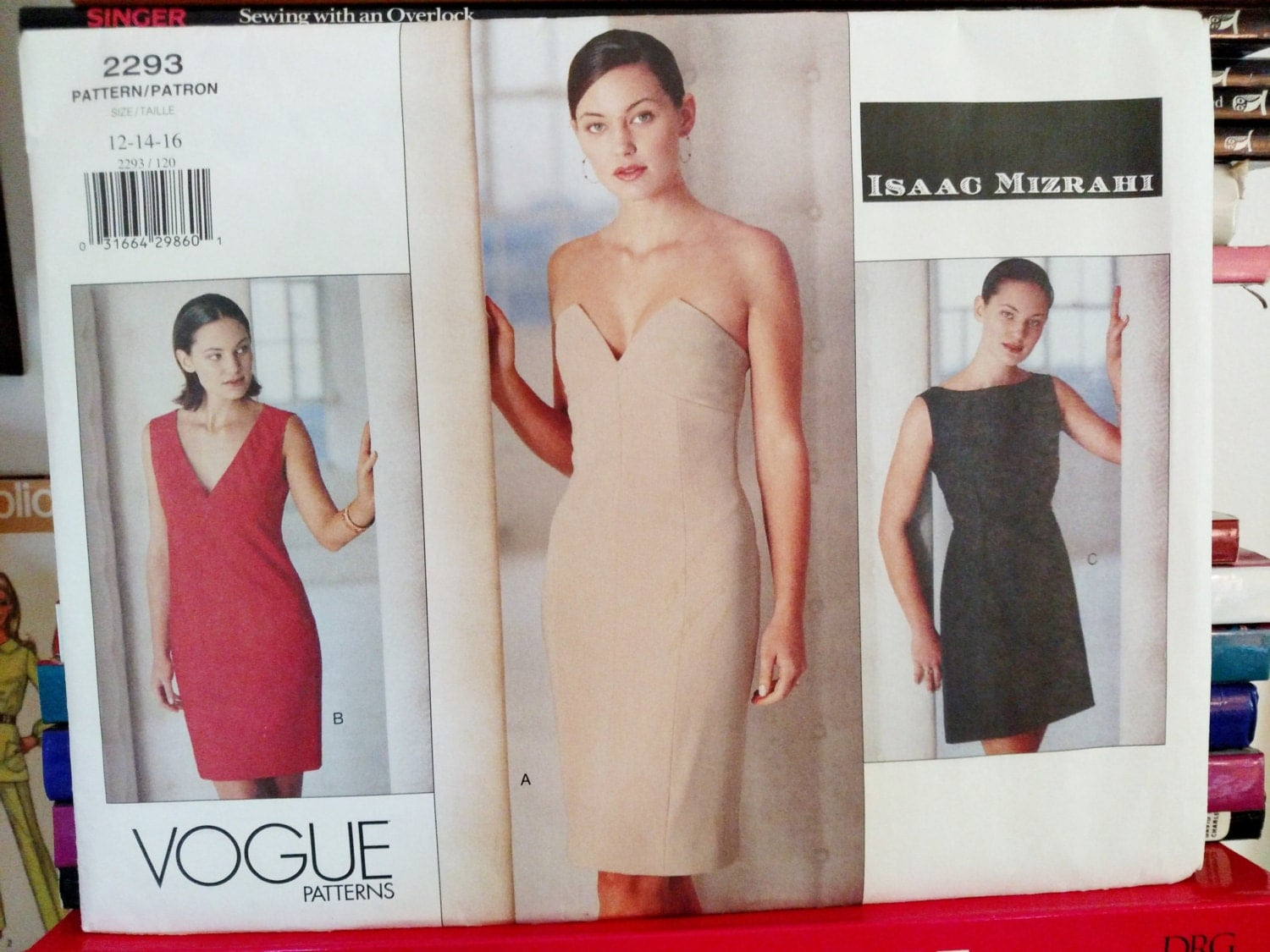 L t 1999 vogue designer isaac mizrahi n 2293 robe de for Robes de mariage cible isaac mizrahi