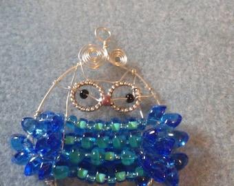Grandma Hoot Owl pendant necklace