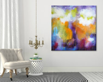 Large Painting Abstract Art Abstract Painting Large Art Original Art painting Abstract Wall art Canvas Art Modern Wall hanging Home decor
