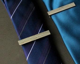 Beetle Kill Pine Wood Tie Clip