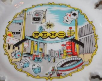 So Much Fun: Reno, Nevada Souvenir Ceramic Plate