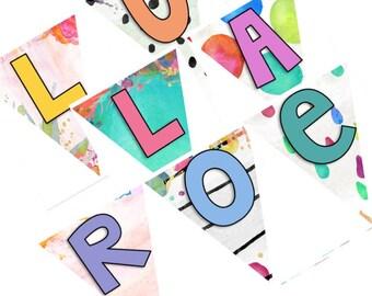 LuLaRoe Printable Pennant Banner