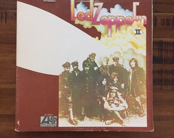 1969 Led Zeppelin II Album With Inner Sleeve /SD 19127/ Atlantic Records/ Stereo
