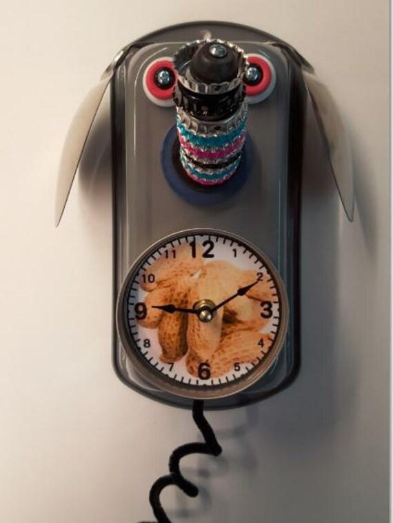 Handmade Elephant Clock