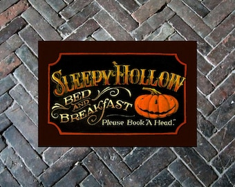 "Sleepy Hollow Door Mat 20"" x 30"" - Halloween"
