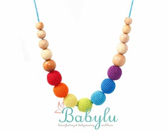 Rainbow Nursing Necklace