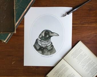 Edgar Allan Crow - Print