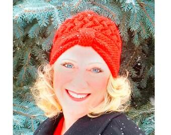 Flapper Cloche Hat Knitting Pattern