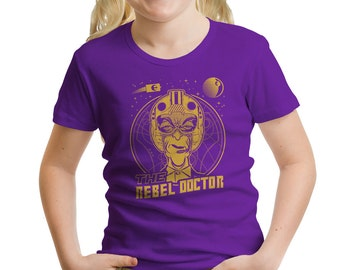 "Doctor Who ""Rebel Doctor"" Girls' T-Shirt"