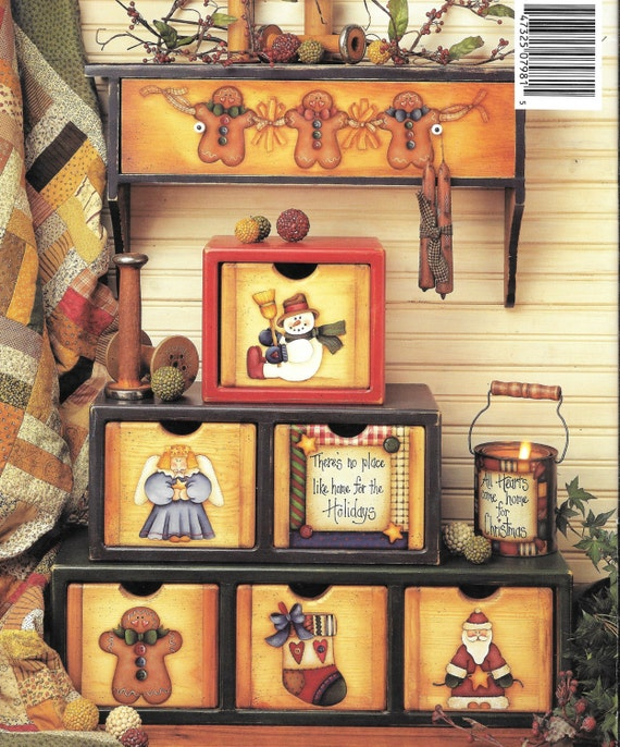 Bless your heart folk art tole and painting book by dianna for Folk art craft paint