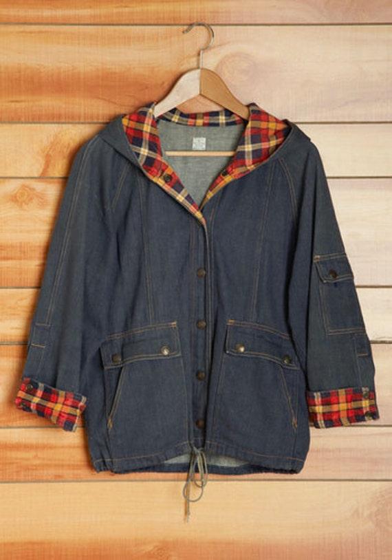 70s Happy Camper Denim Jacket