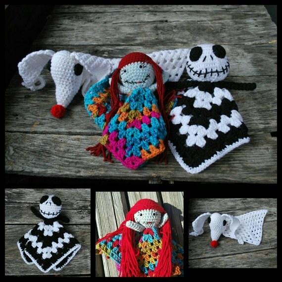 Nightmare before christmas doll/crochet/fandom/