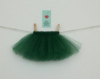 Green Tutu, St. Patrick's Day Tutu, Christmas Tutu, Baby Girl Tutu, Newborn Tutu, Green, Baby Girl, Newborn, Girl, Tutu
