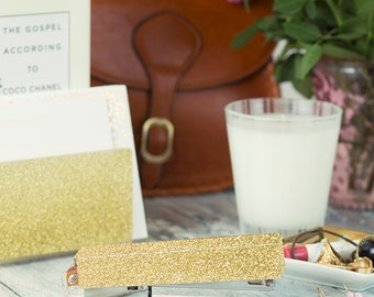 Stapler-Acrylic-Gold-Glitter
