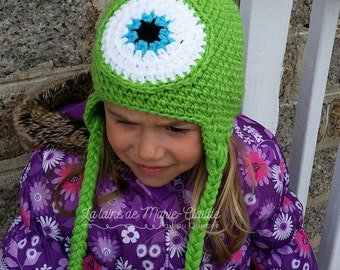 Monster Tuque for children 6-10 years old available immediately