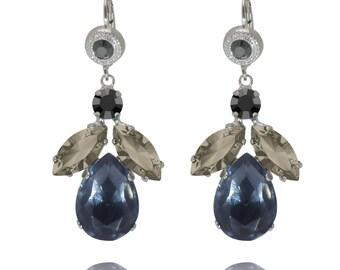 Drop Earring Swarovski Dangle Earrings Swarovski Earrings Wedding Earrings Bridesmaid Jewelry Bridesmaid earrings Wedding Crystal Earring
