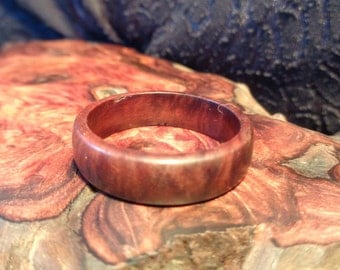 Handcraft Ring,Wood Band Ring