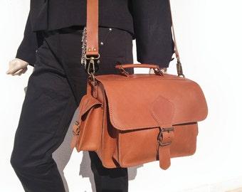 Leather DSLR Camera Bag - Camera Shoulder Bag - Leather Handbag - Leather Camera Case. Handmade in Greece, 100% Cowhide Leather.